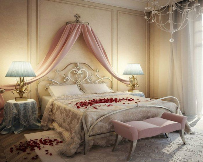 Les 25 meilleures idées de la catégorie Chambres romantiques sur ...