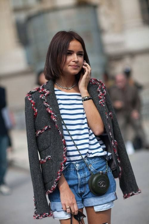 Miroslava Duma and her cute mini CHANEL bag