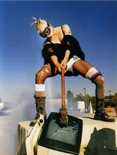 Lori Petty as Tank Girl