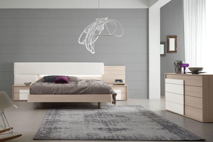 16 fantastiche immagini su arredamento camere bianche su pinterest forma immaginazione e - Characteristics of contemporary platform beds ...