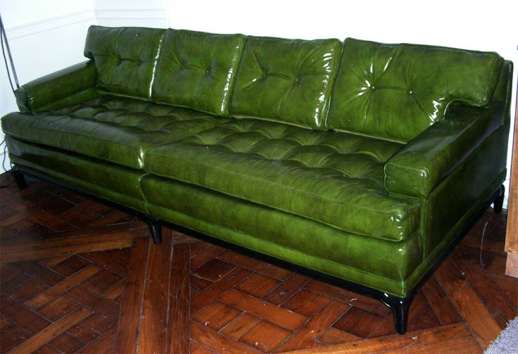 green leather sofas - Google Search