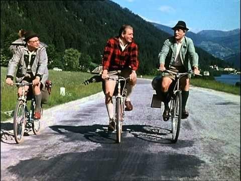 Heinz Erhardt, Wolf Albach-Retty, Hans Joachim Kulenkampff - Mit dem Rad...
