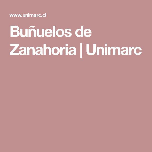 Buñuelos de Zanahoria |  Unimarc