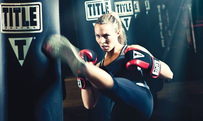 TITLE Boxing Club - Carlsbad: $29 for Two Weeks of Unlimited Boxing and Kickboxing Classes at TITLE Boxing Club ($59.50 Value)