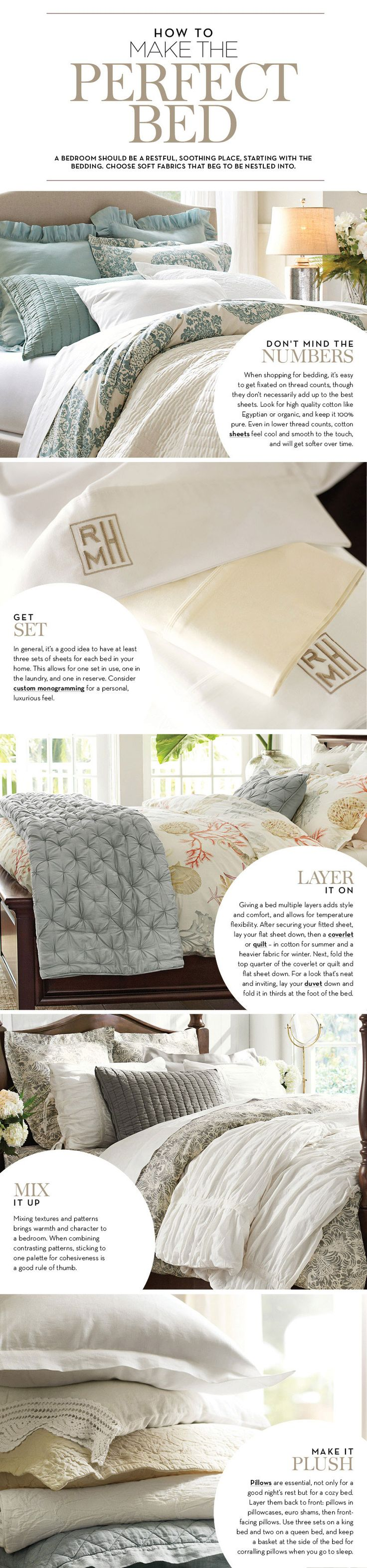 Best 25+ How to make bed ideas on Pinterest | Pottery barn bed ...