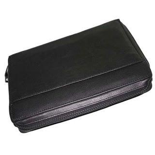 Organizer hp dan tablet, dompet hpo kulit asli