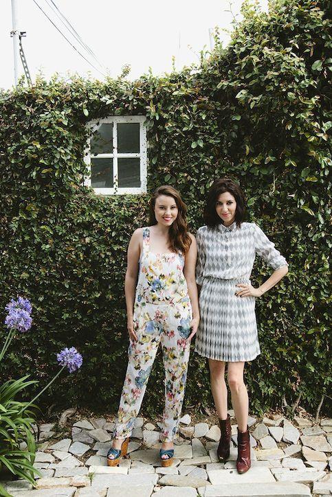 LEAF TV's Geri Hirsch and Erin Falconer (aka DIY geniuses)