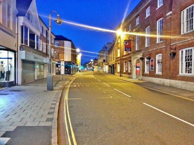 Grantham town centre