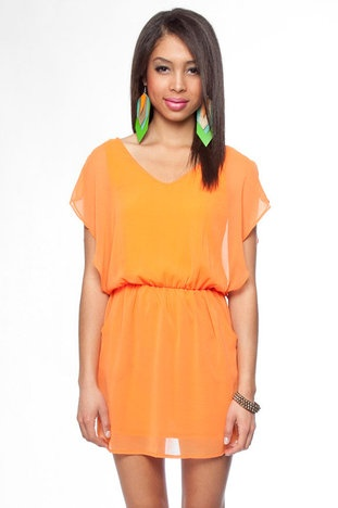 : Colors Dresses, Orange Clothing, Cute Dresses, Springtim Flutter, Flutter Dresses, Dresses 26, Day Dresses, Dresses 25, Date Night Dresses