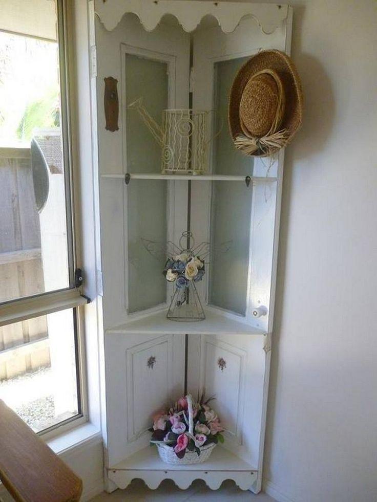 One bi fold door or a standard door cut in two some for Creative cabinet doors