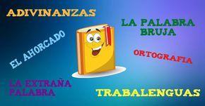 Te presentamos unos entretenidos juegos de lengua para trabajar con los niños de infantil y primaria. Desde el entretenido juego del ahorcado, donde descub