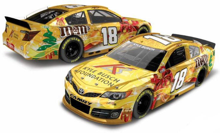 2013 Kyle Busch's #18 Holiday Foundation Fantasy Toyota ...