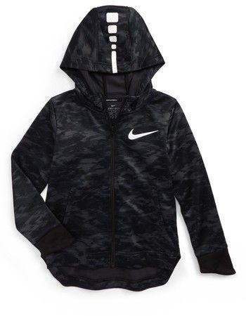 Nike Toddler Boy's Elite Therma Zip Hoodie