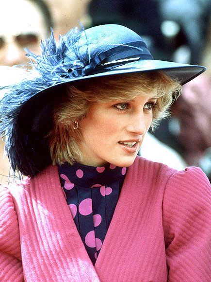 People:  IN FULL PLUME photo | It's her birthday hat! The Princess stepped out in a feathered look in Canada on July 1, 1983, when she turned 22.  Credit: Tim Graham/AP