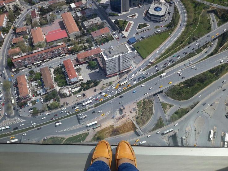 Saphire den kuşbakışı İstanbul