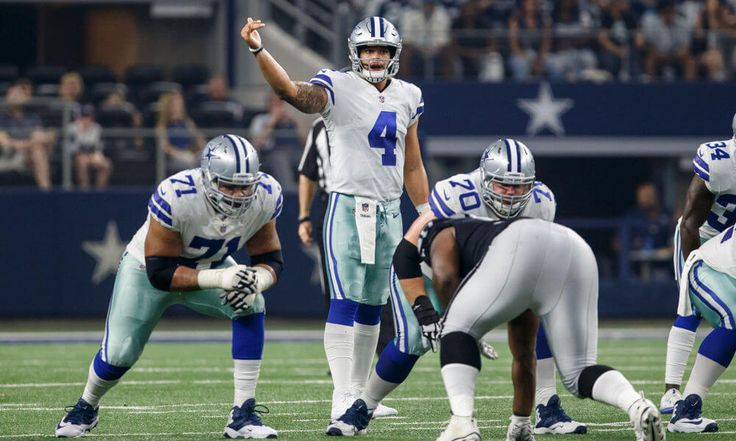Prescott confident in Cowboys offense even without Elliott = Dallas Cowboys quarterback Dak Prescott was a breakout sensation as a rookie in 2016, leading the team to a 13-3 record and an NFC East division crown. But when faced with.....