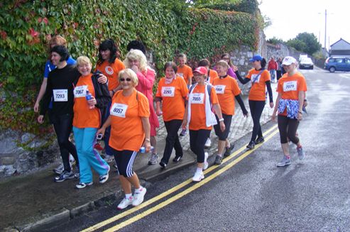 """Well done ladies you were great"" – Support and Integration Centre ""Together-Razem"" in Cork Mini Women's Marathon 2013"