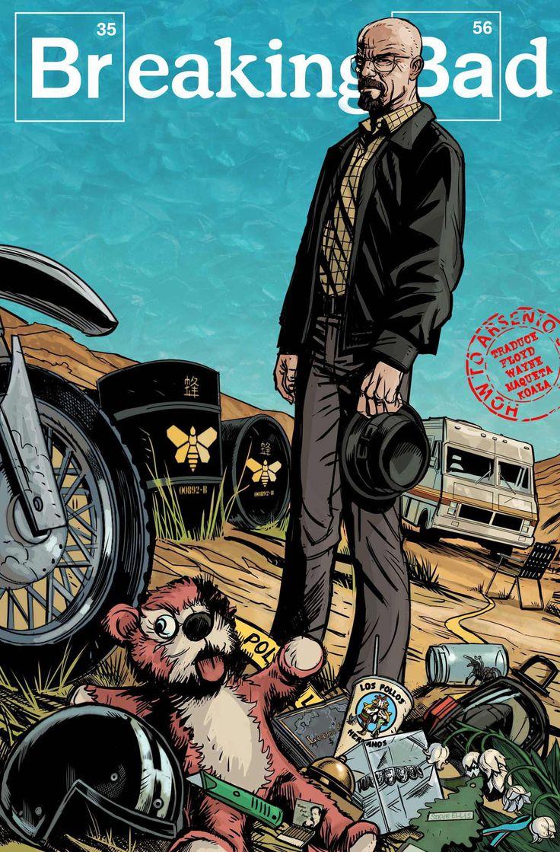 Breaking Bad comic - All Bad Things, en español.