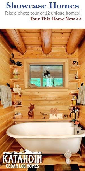 Photos of a Tiny Log Cabin Home – #Cabin #Home #Lo…