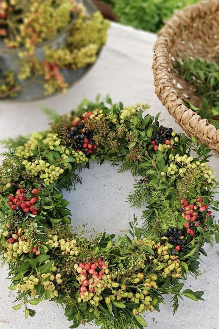 Kranz aus Beeren für den Herbst: Anleitung DIY zu…