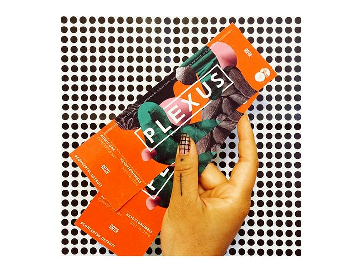 The tickets we designed for Jagermeister's Concept 56 Detroit PLEXUS event are real and here! That's was a mouthful, but the event is fantastic and the tickets are so fun! Yay for print. — https://...