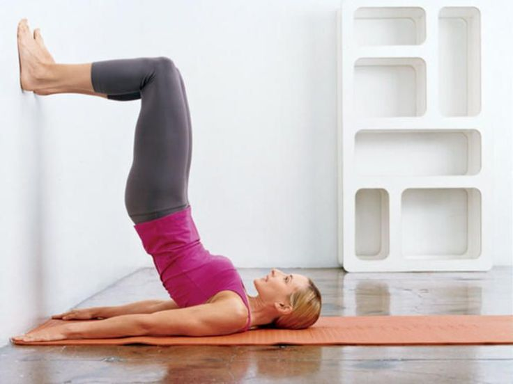 The No Squats Belly, Butt, and Thighs Workout : Wall Bridge