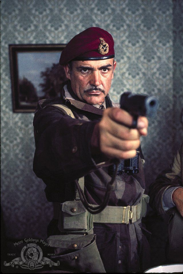 Still of Sean Connery in A Bridge Too Far - if anyone could play that part it would be him