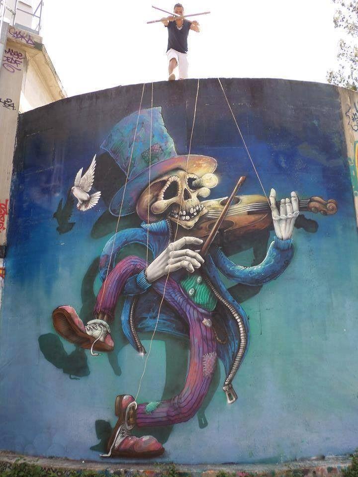 #StreetArt #Squelette #Pantin