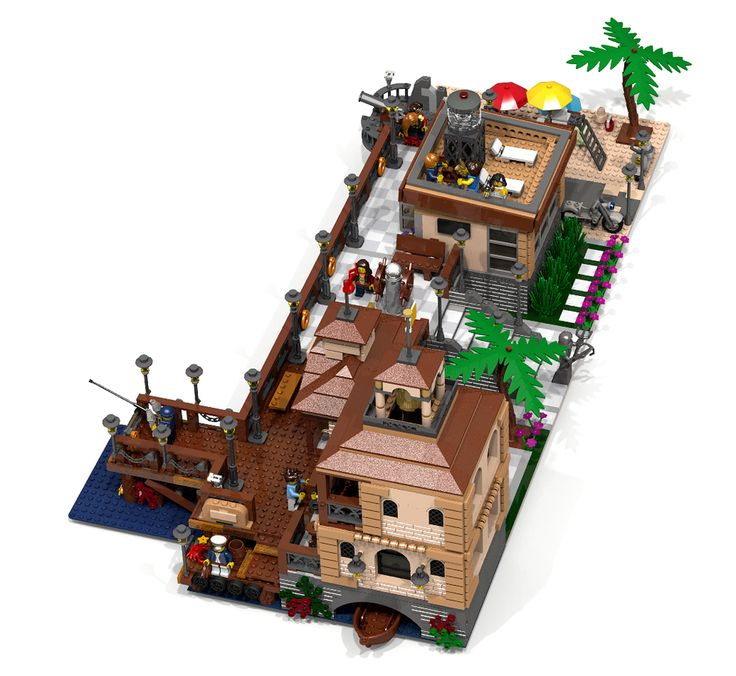 LEGO Ideas - Seaside Promenade