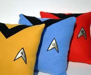 Star Trek Pillows. Beam me up, Sofa