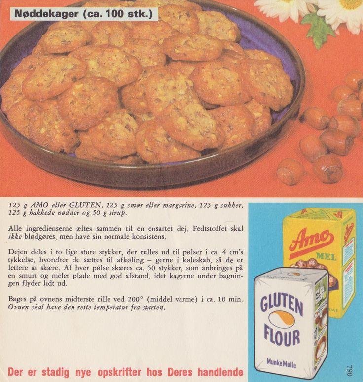 Nøddekager ( ca. 100 stk. )...