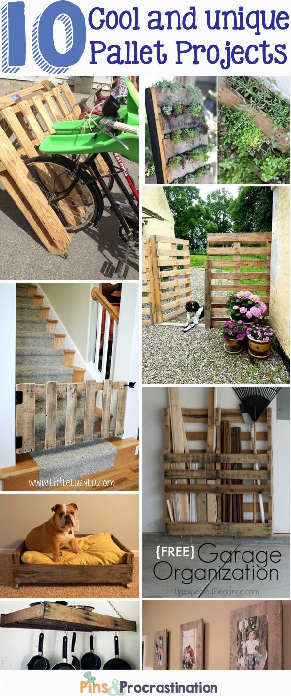 10 Cool and Unique Pallet Projects