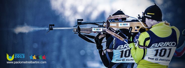 Corso di fotografia sportiva_winter universiade del Trentino_Paolo Meitre_Libertini_Biathlon