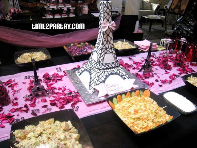 mesa de pasapalos salados