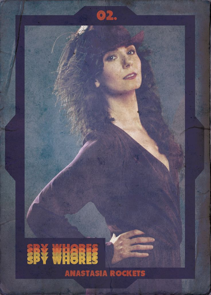 Will this Cold War cutie give FBI agent and All-American crusader Hard Times the cold shoulder forever? #spywhores #retrotv #tradingcards #the80's