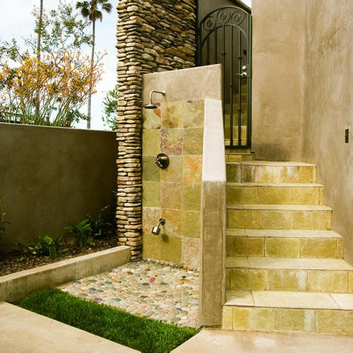 Outdoor Shower Pet Wash Design