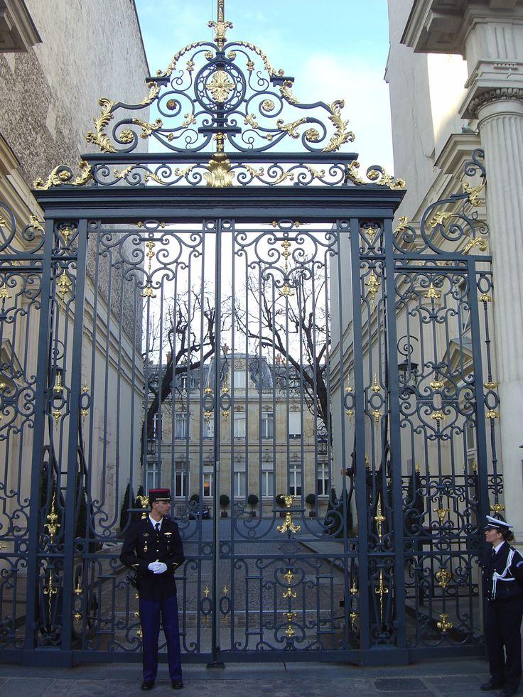 Entrance Gate To The H 244 Tel De Beauvau Paris ♡♡paris