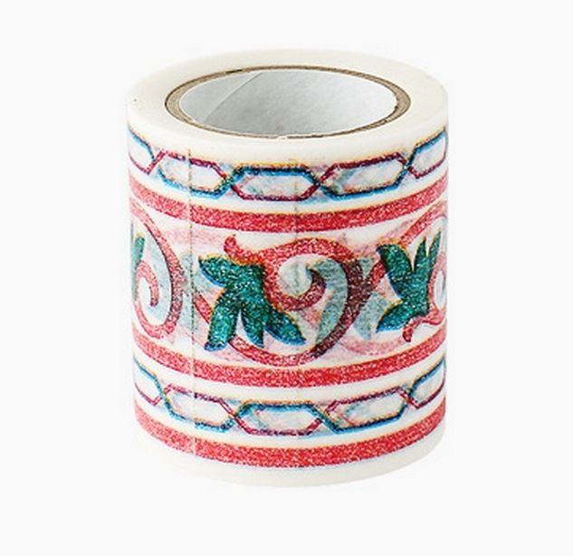 Decolfa Interior Masking Tape 1.9 Inch Frame Gold M3602 For Decorate Home Art