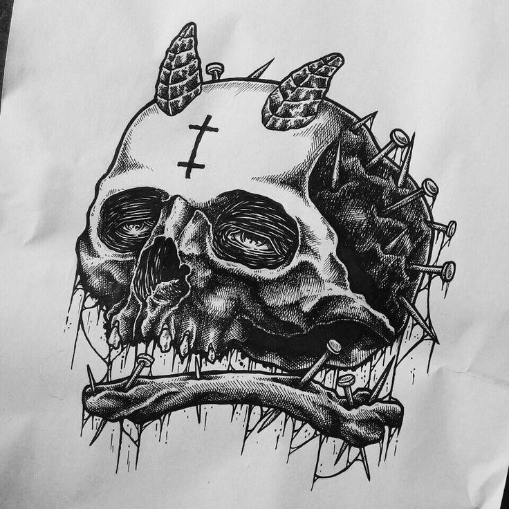 Black ink // 015