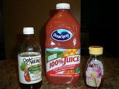 Dr Oz slim-down drink ! cup grapefruit juice 2 tbs apple cider vinegar 1 tsp honey before breakfast, lunch & dinner