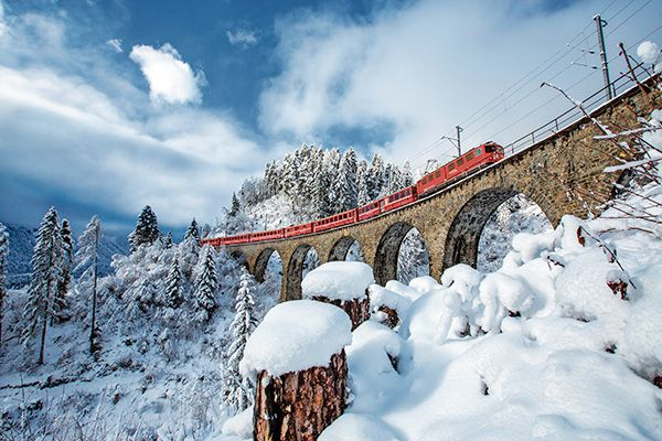 Vier Bahnreisen zum Superpreis - Coopzeitung - Die grösste Wochenzeitung der Schweiz