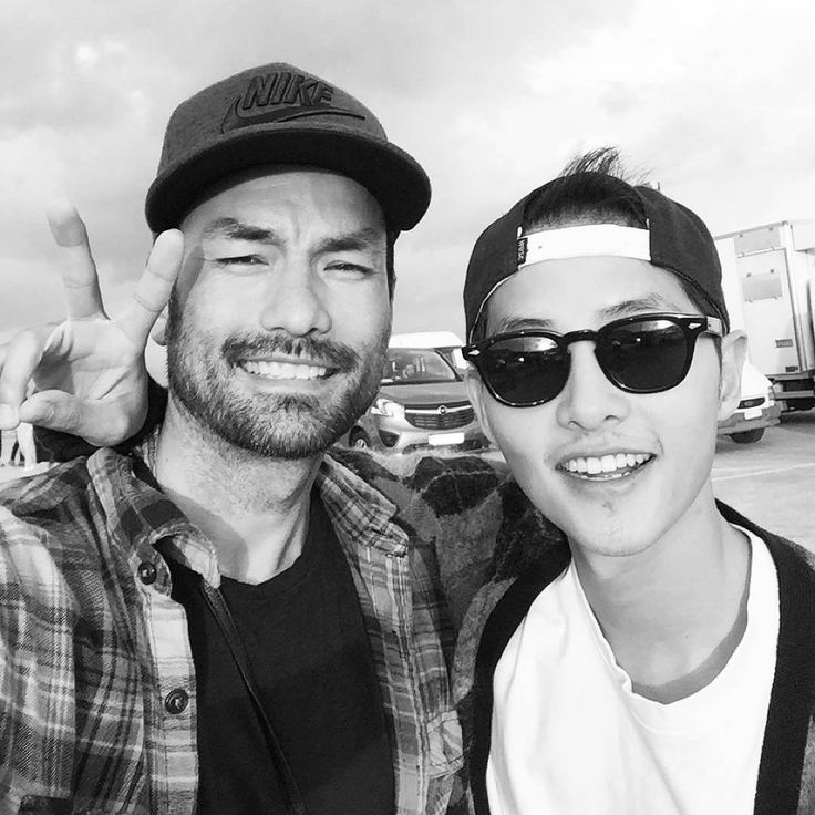 song joong ki and david lee mcinnis kdrama pinterest
