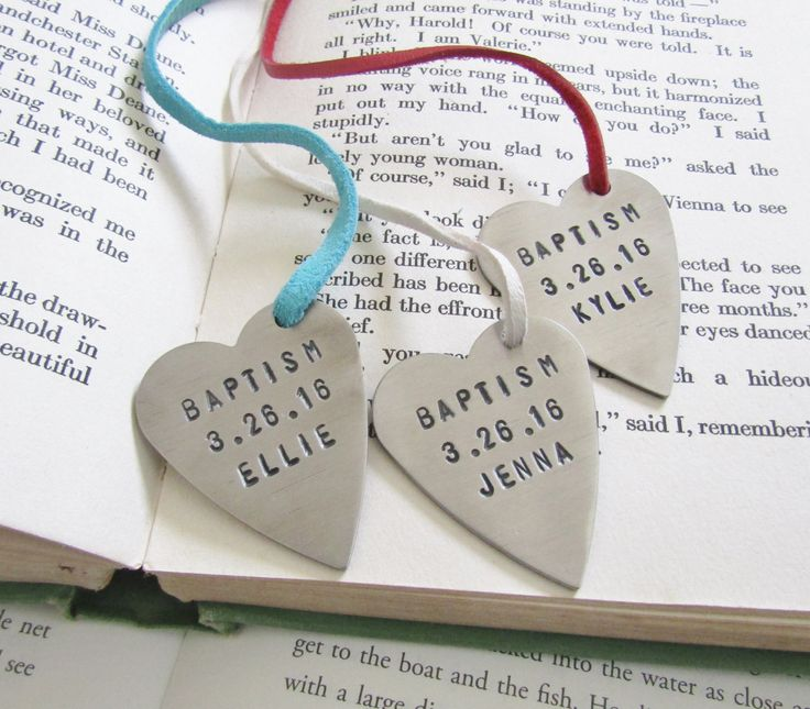 A Meaningful Baptism Gift Idea: 22 Best Unique Bookmarks For The Book Lover! Images On