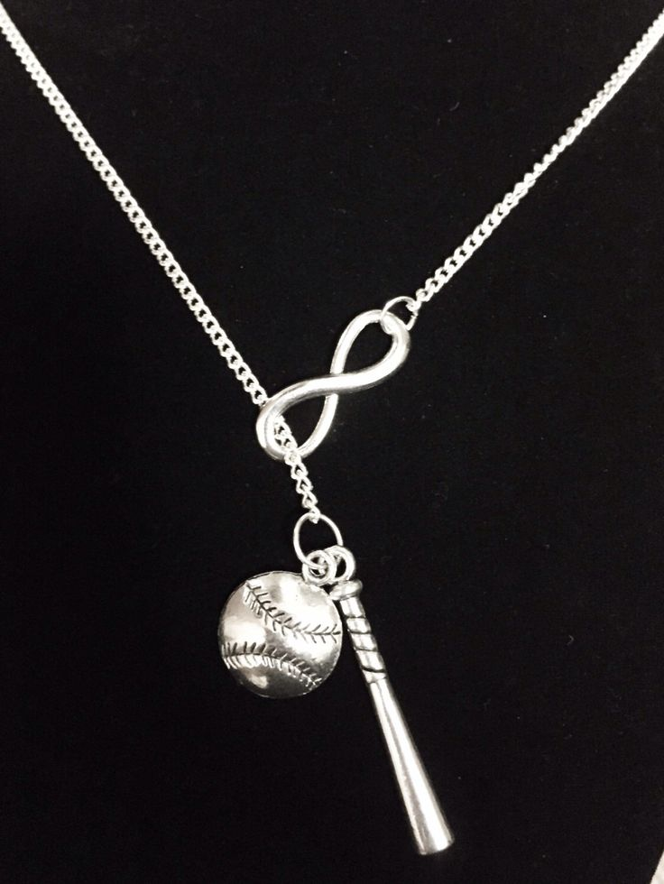 Infinity I Love Baseball Bat Softball Allstar Mom Mother Forever Y Lariat Necklace by HeavenlyCharmed on Etsy https://www.etsy.com/listing/209395205/infinity-i-love-baseball-bat-softball