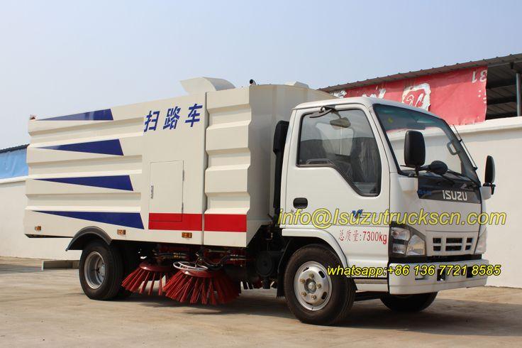 Road Sweeper Truck Isuzu overview pictures
