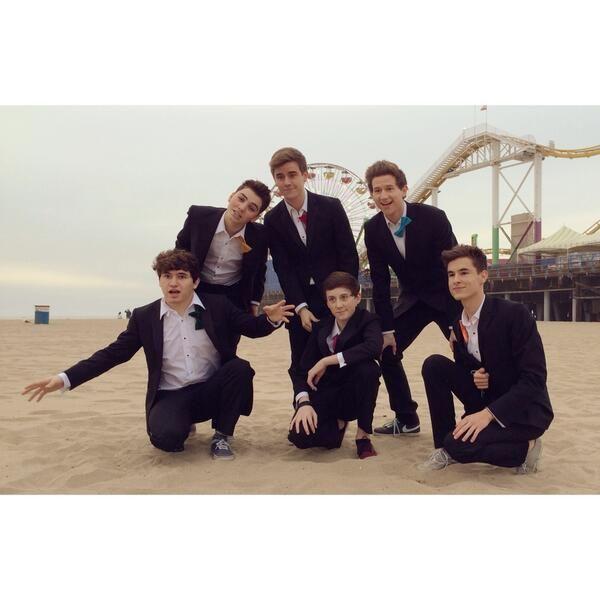 Ricky Dillon, JC Caylen, Sam Pottorff, Kian Lawley, Connor Franta, Trevor Moran <3