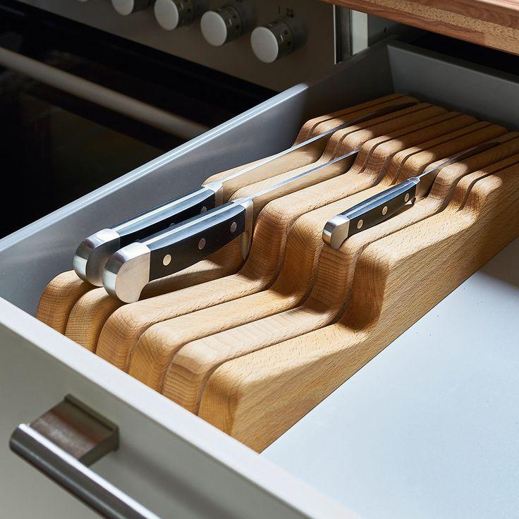 Schubladeneinsatz für Kochmesser_40 // manufactum