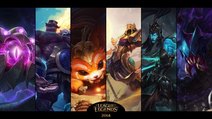 Gry Wideo League Of Legends  Rek'Sai Kalista Azir Gnar Braum Vel'koz Tapeta