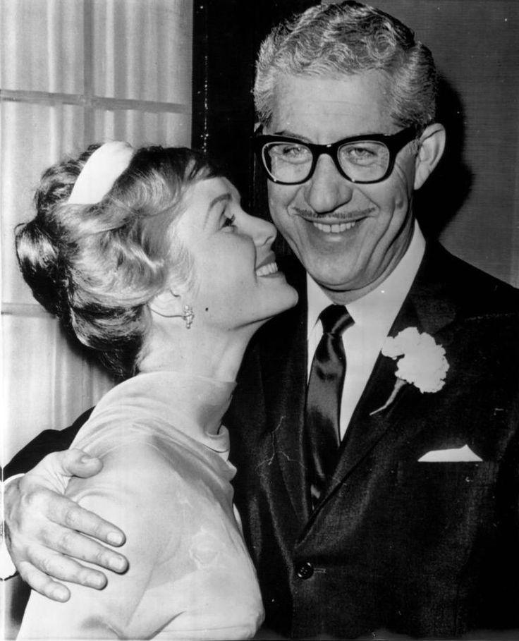Debbie Reynolds and husband Harry Karl