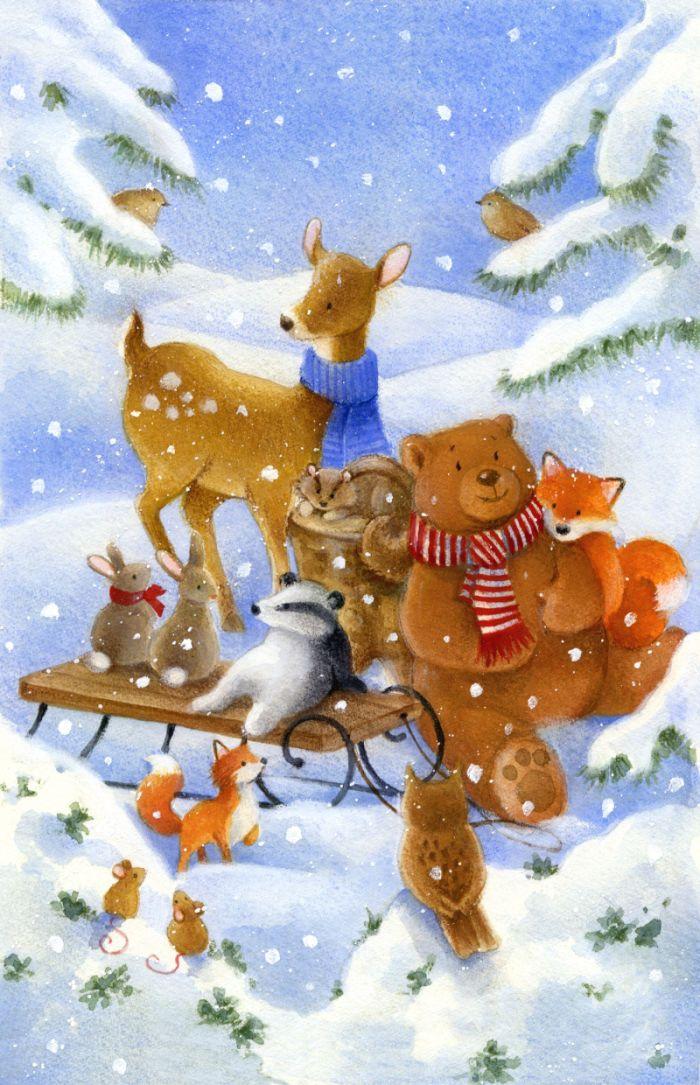 Lisa Alderson - woodland christmas  2.jpg